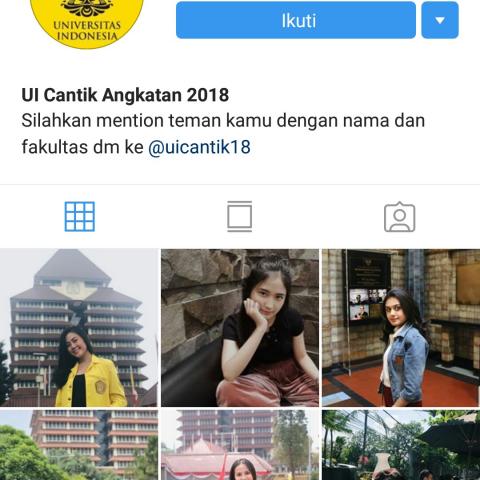 Dibalik Gemesnya Akun Instagram Kampus Ui Cantik Curi Foto Foto Mahasiswi Ui Hingga Depresi Question Answer Soulusi Com